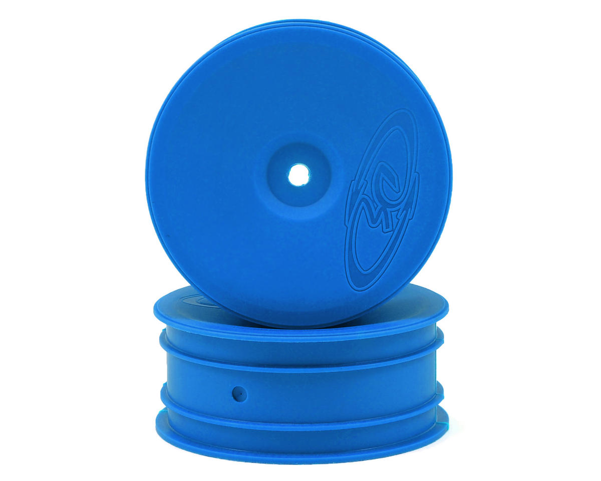 "12mm Hex ""Speedline"" 2.2 1/10 Buggy Front Wheels (2) (B6/RB6) (Blue) by DE Racing"