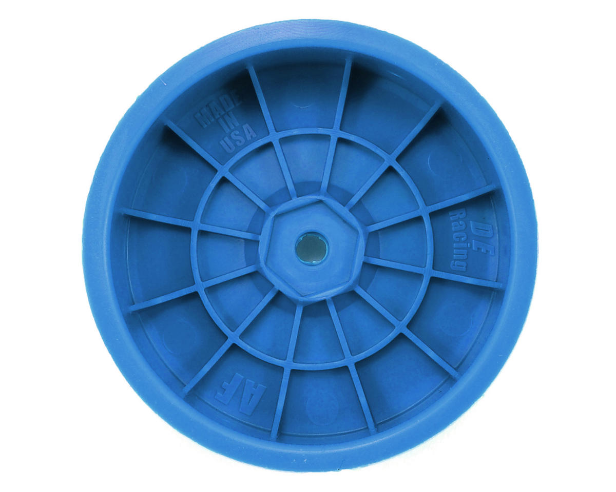 "DE Racing 12mm Hex ""Speedline"" 2.2 1/10 Buggy Front Wheels (2) (B6/RB6) (Blue)"