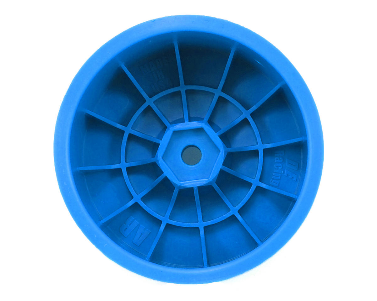 Speedline 2.2 1/10 Buggy Rear Wheels (2) (B6/B64/22/22-4) (Blue) by DE Racing