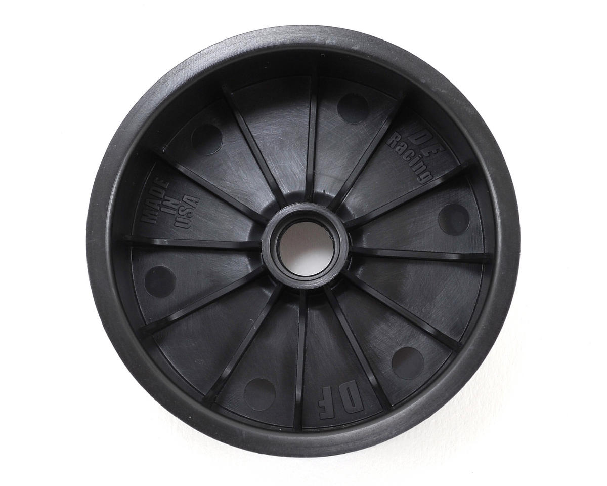"DE Racing ""Speedline"" 2.2 1/10 Buggy Front Wheels (2) (DEX210) (Black) (Pins)"
