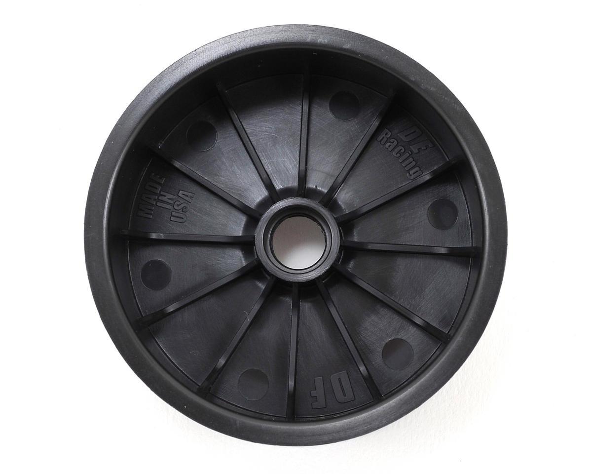 """DE Racing """"Speedline"""" 2.2 1/10 Buggy Front Wheels (2) (DEX210) (Black) (Pins)"""