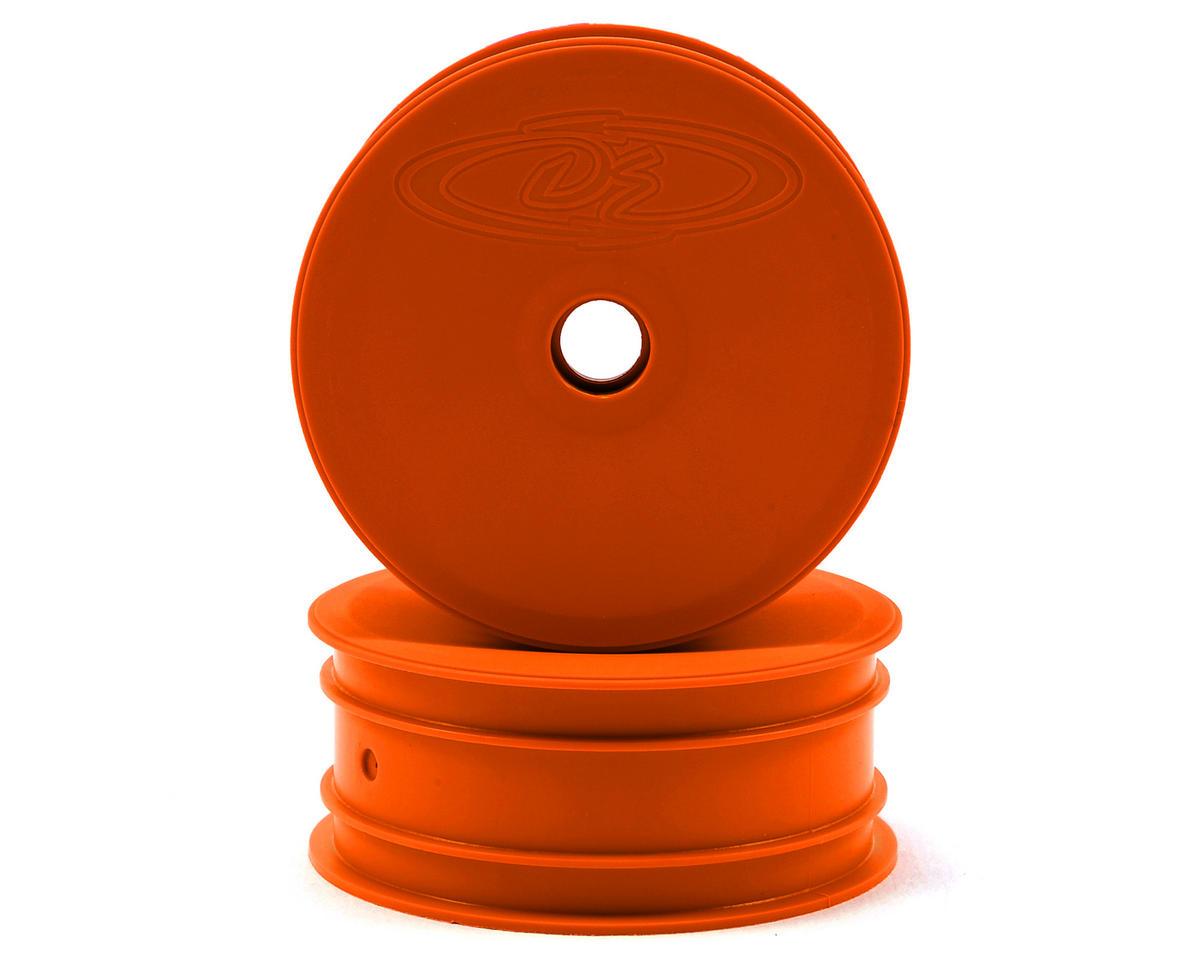 DE Racing Speedline 2.2 1/10 Buggy Front Wheels (2) (DEX210) (Orange)