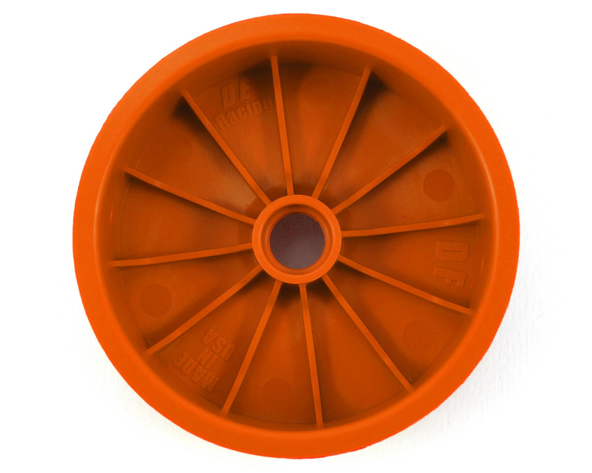 DE Racing Speedline 2.2 1/10 Buggy Front Wheels (2) (DEX210) (Orange)