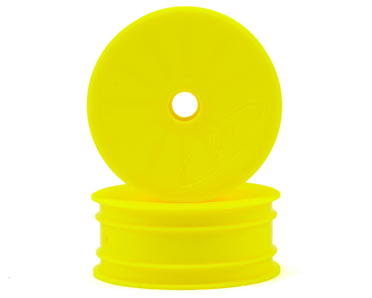 DE Racing Speedline 2.2 1/10 Buggy Front Wheels (2) (DEX210) (Yellow)