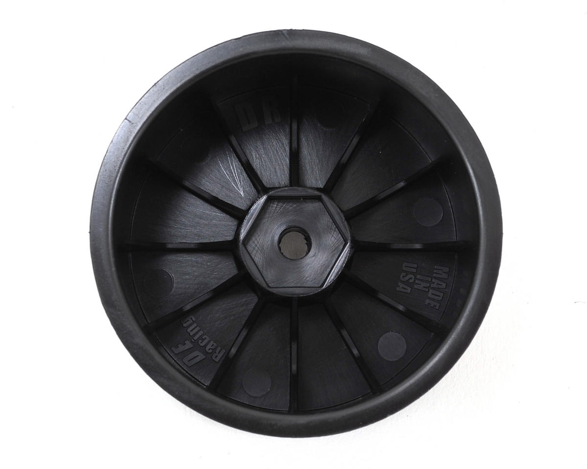 DE Racing Speedline 2.2 1/10 Buggy Rear Wheels (2) (XB4/DEX210/DEX410) (Black)