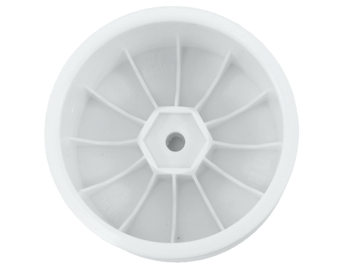 DE Racing Speedline 2.2 1/10 Buggy Rear Wheels (2) (XB4/DEX210/DEX410) (White)