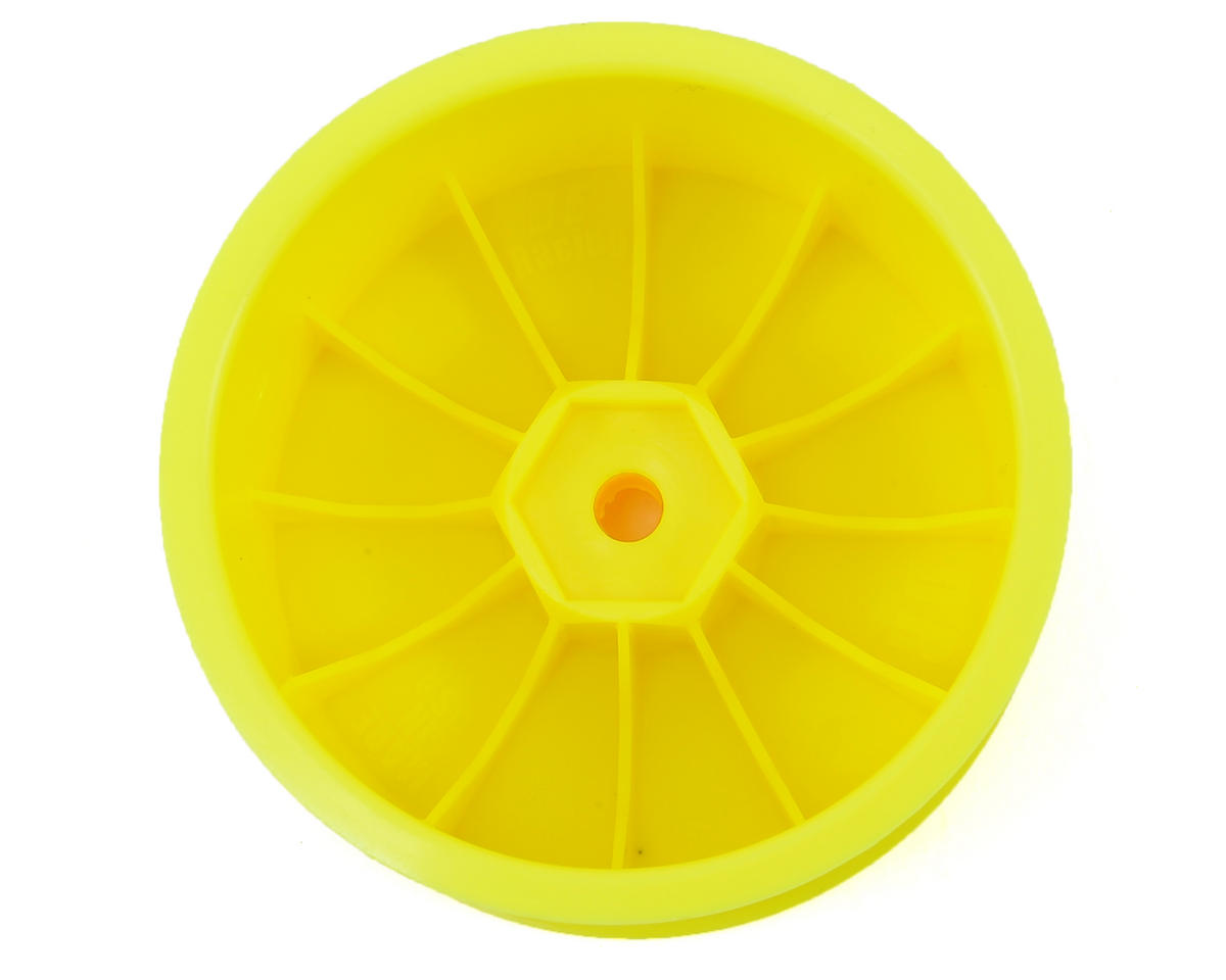 DE Racing Speedline 2.2 1/10 Buggy Rear Wheels (2) (XB4/DEX210/DEX410) (Yellow)