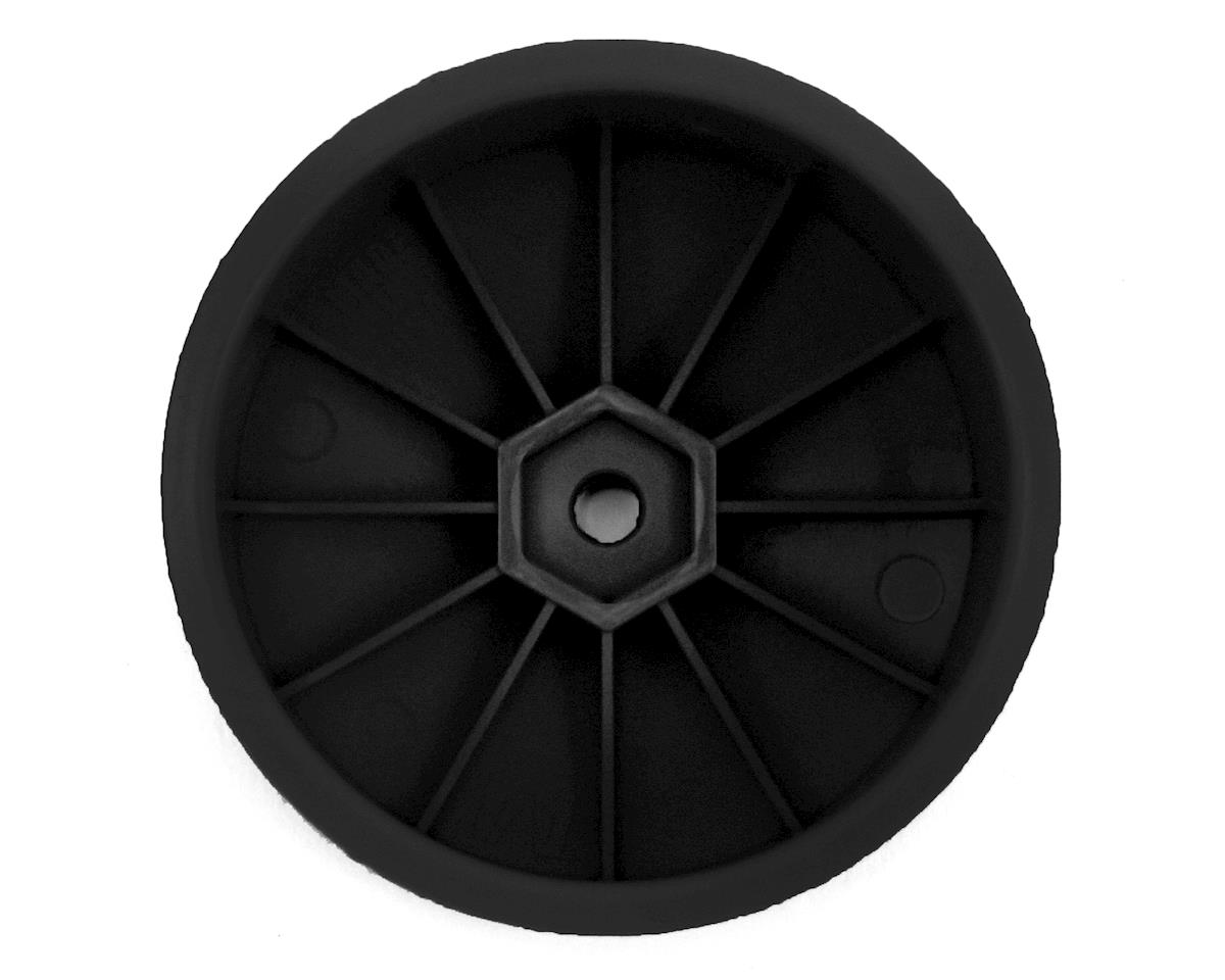 DE Racing Speedline 2.2 4WD Buggy Front Wheel (Black) (4) (B64)