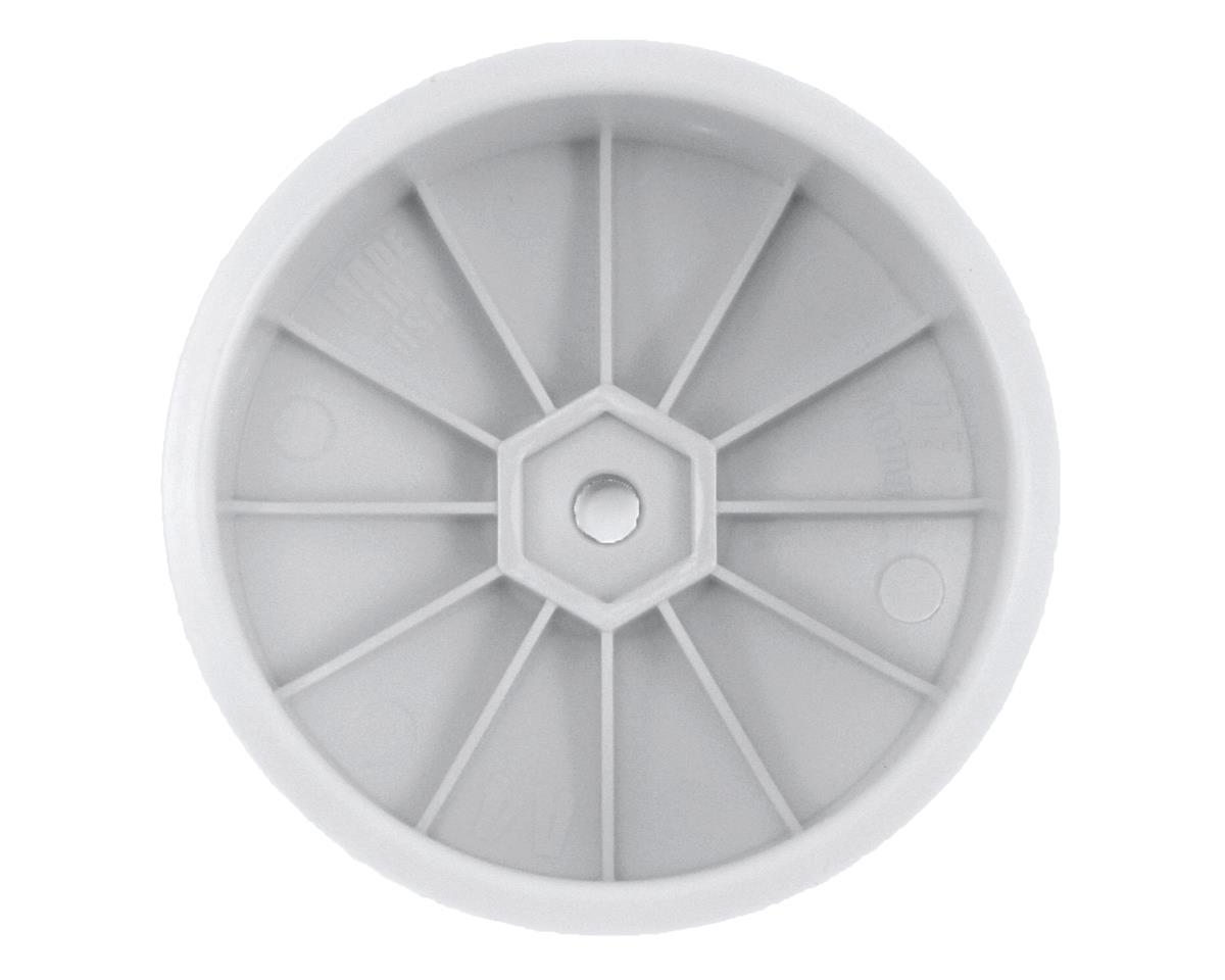 DE Racing Speedline 2.2 4WD Buggy Front Wheel (White) (4) (B64)