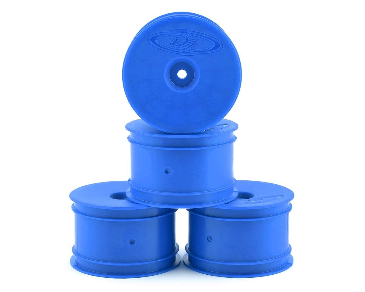 DE Racing Speedline 2.2 1/10 Buggy Rear Wheels (4) (B6/B74/22/22-4) (Blue) (Team Associated RC10 B44.1)
