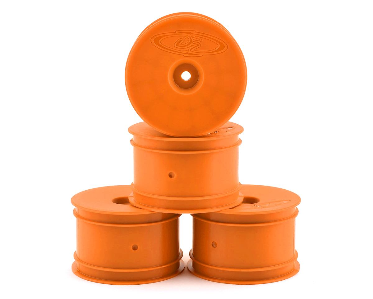 DE Racing Speedline 2.2 1/10 Buggy Rear Wheels (4) (B6/B74/22/Losi 22-4) (Orange)