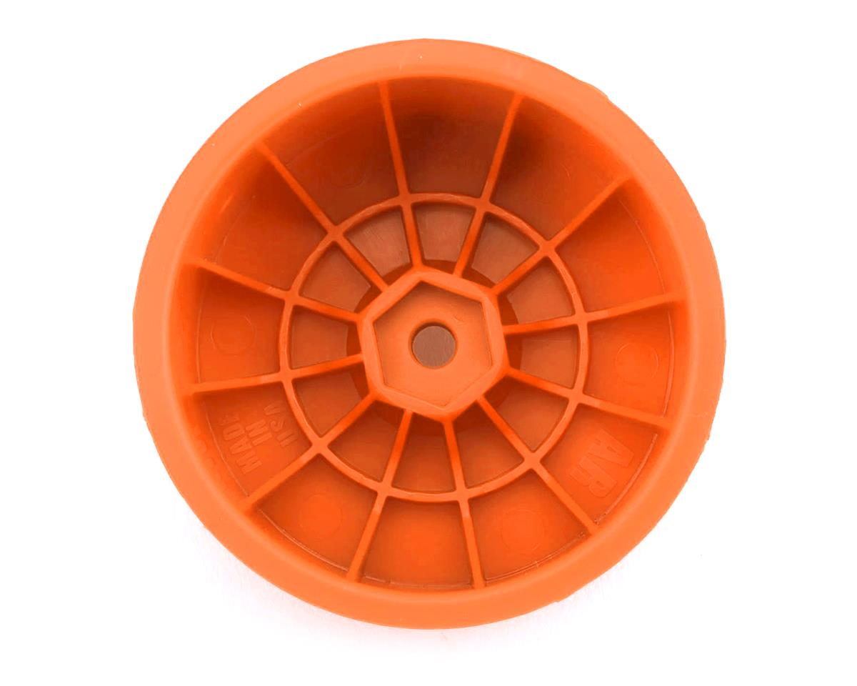 Image 2 for DE Racing Speedline 2.2 1/10 Buggy Rear Wheels (4) (B6/B74/22/22-4) (Orange)