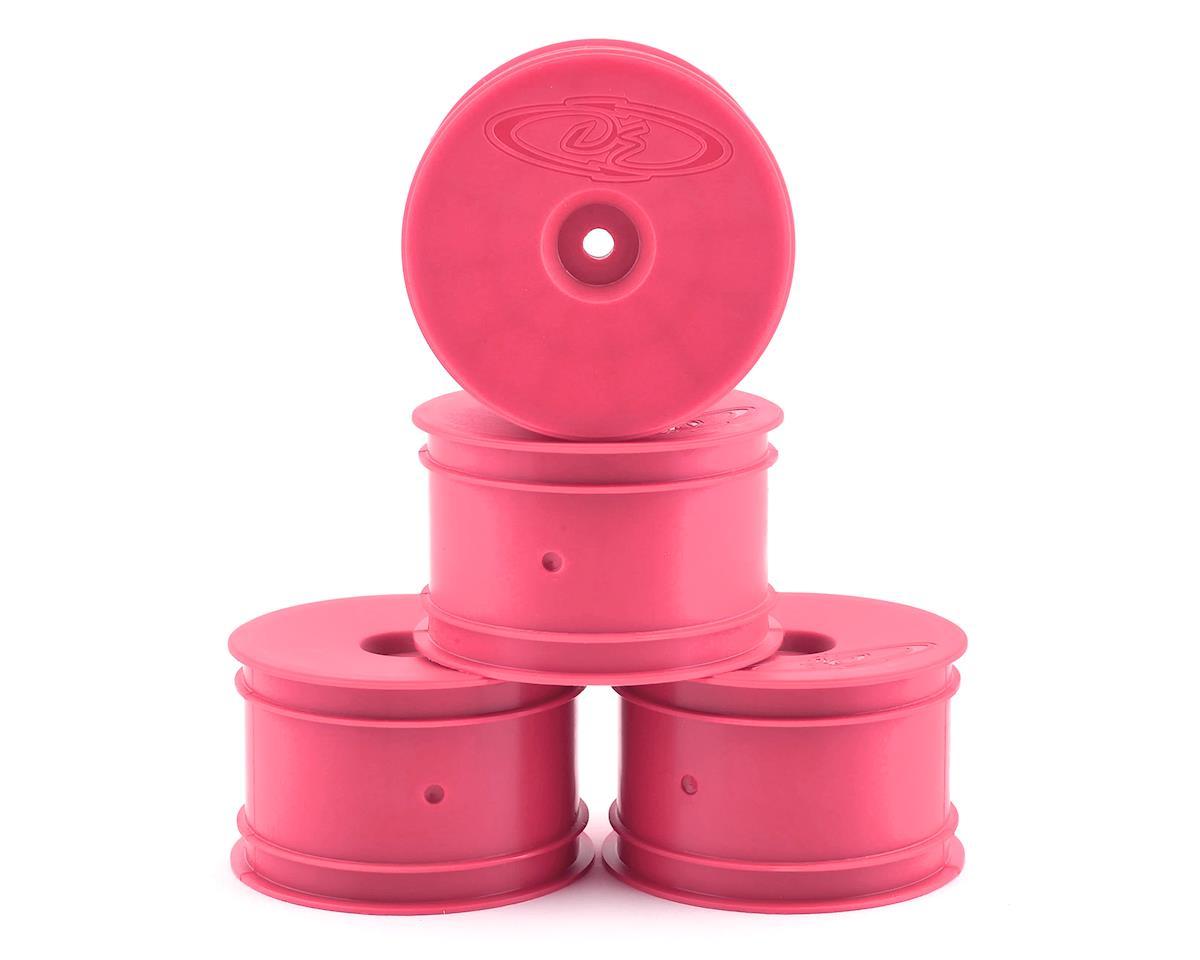 DE Racing Speedline 2.2 1/10 Buggy Rear Wheels (4) (B6/B74/22/22-4) (Pink)