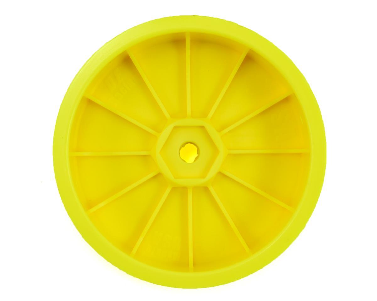 DE Racing Speedline Slim 2.2 2WD Buggy Front Wheel (Yellow)(4) (B6/RB6)