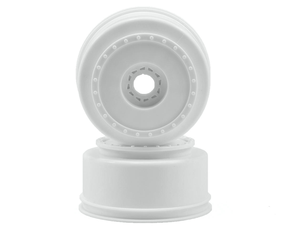 "DE Racing 17mm Hex ""Borrego"" Short Course Wheels (White) (2) (SC8/Senton)"