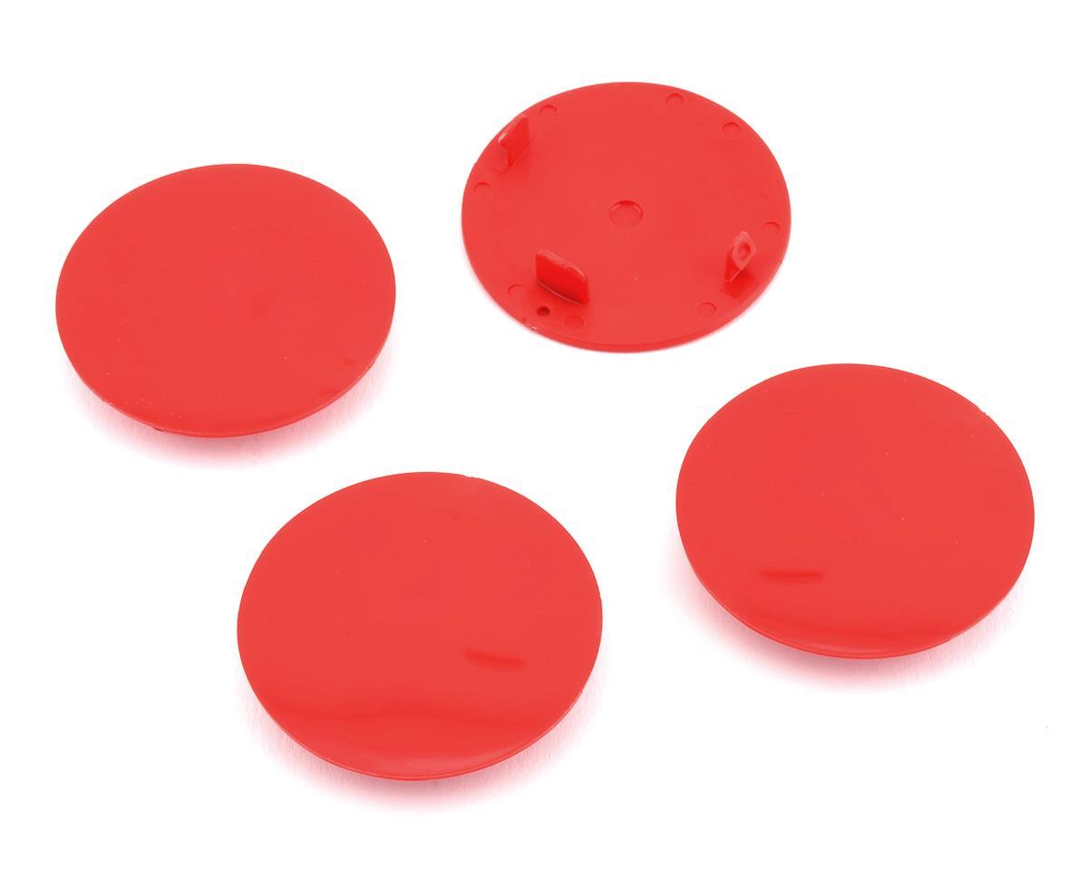 DE Racing Speedway Dirt Oval Mud Plugs (Red)