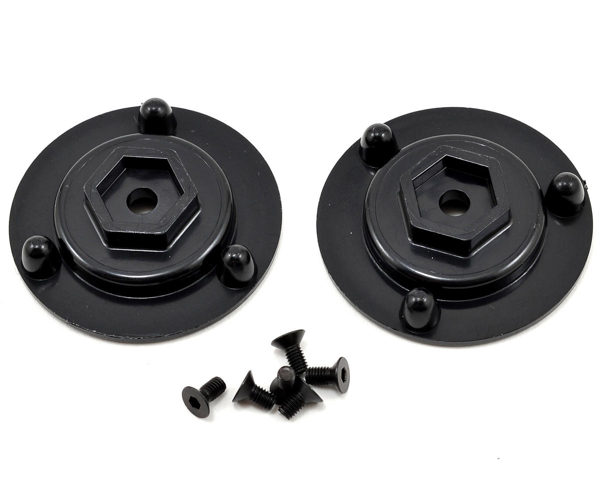 12mm Hex Short Axle Adapters (2) by DE Racing
