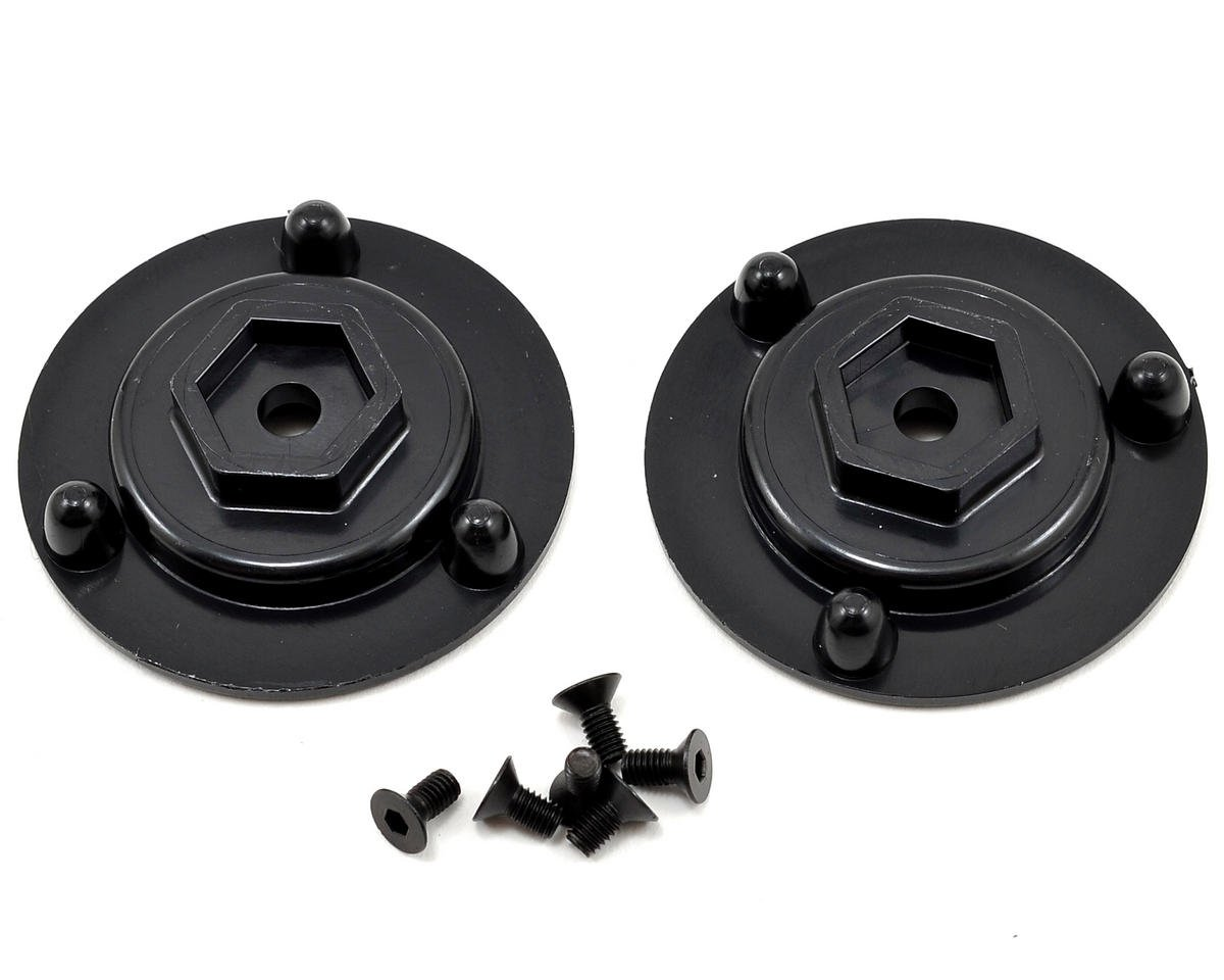 DE Racing 12mm Hex Short Axle Adapters (2)