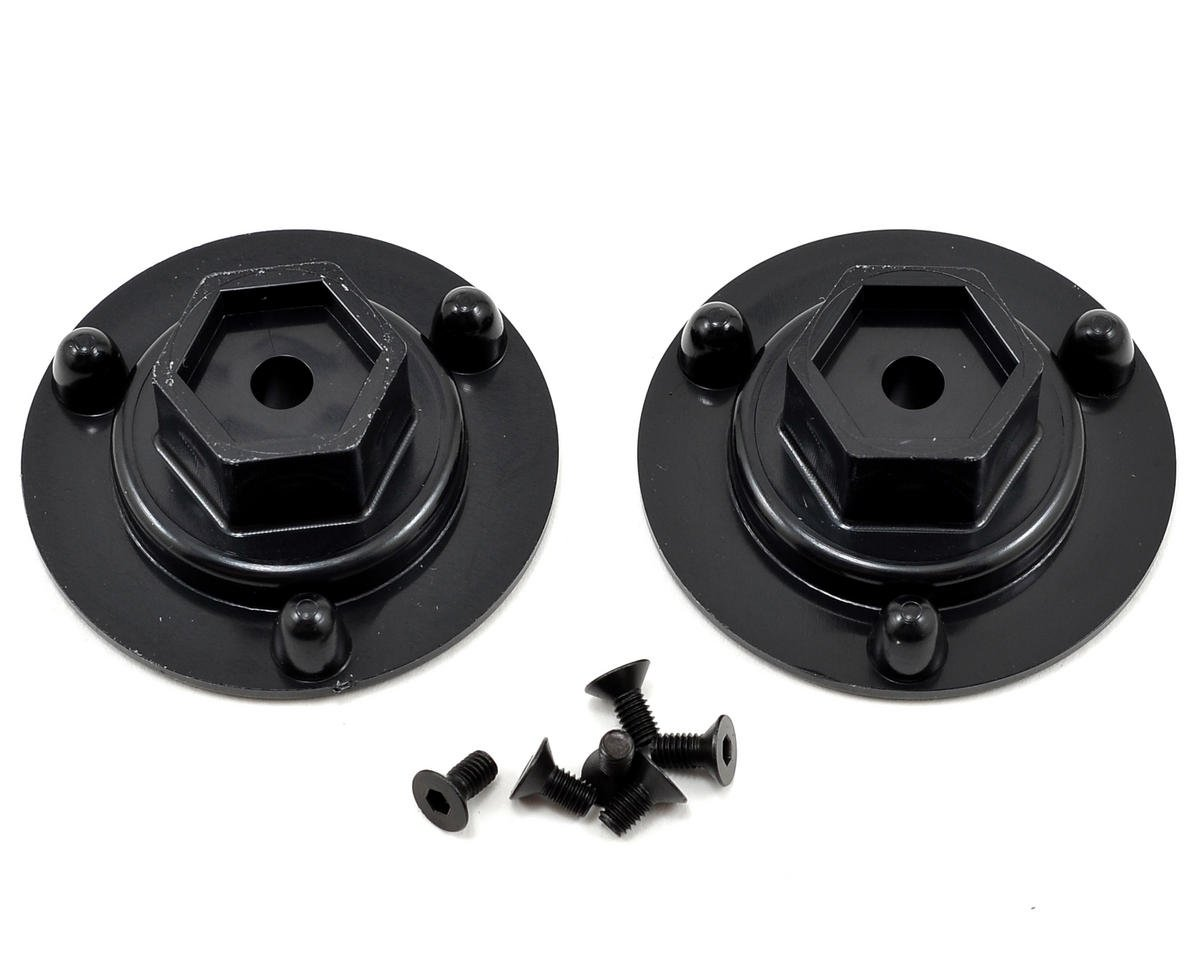 DE Racing 14mm Hex Long Axle Adapters (2)