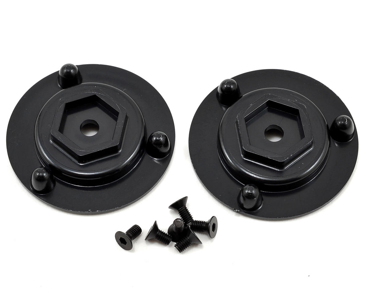 DE Racing 14mm Hex Short Axle Adapters (2)