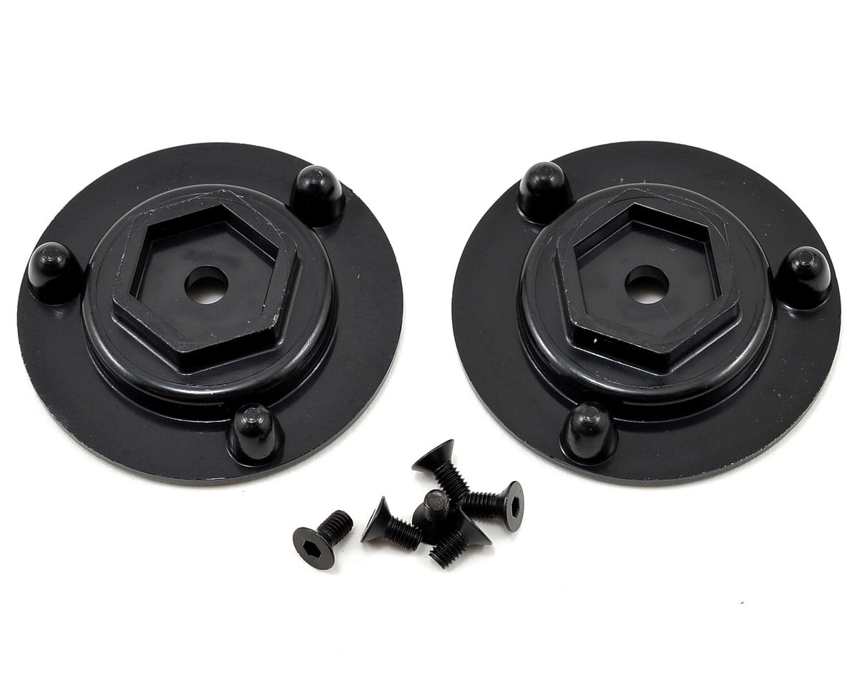 DE Racing 15mm Hex Adapters (2)