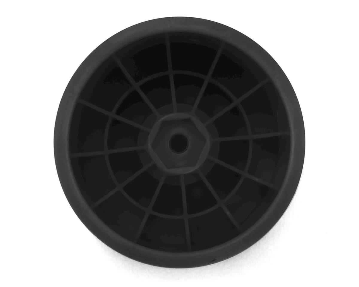 "Image 2 for DE Racing 12mm Hex ""Speedline"" 2.2"" 1/10 Stadium Truck Wheel (Black) (4) (T4.2)"