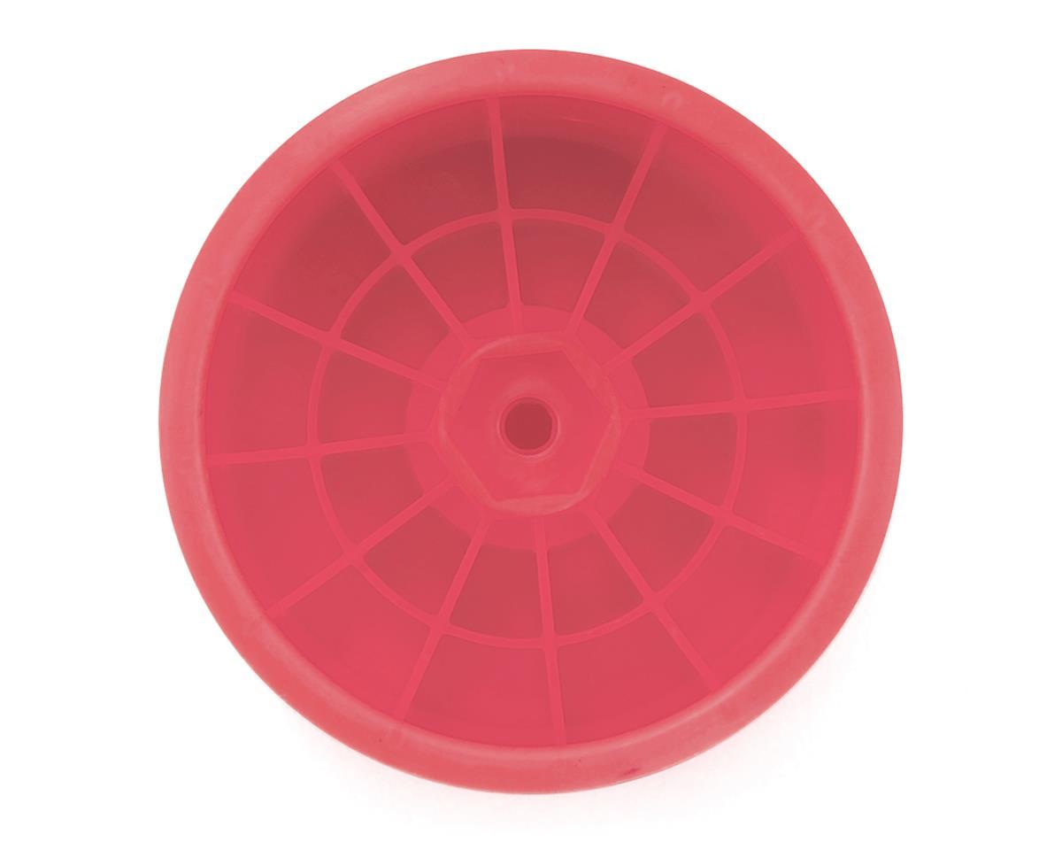 """DE Racing 12mm Hex """"Speedline"""" 2.2"""" 1/10 Stadium Truck Wheel (Pink) (4) (T4.2)"""