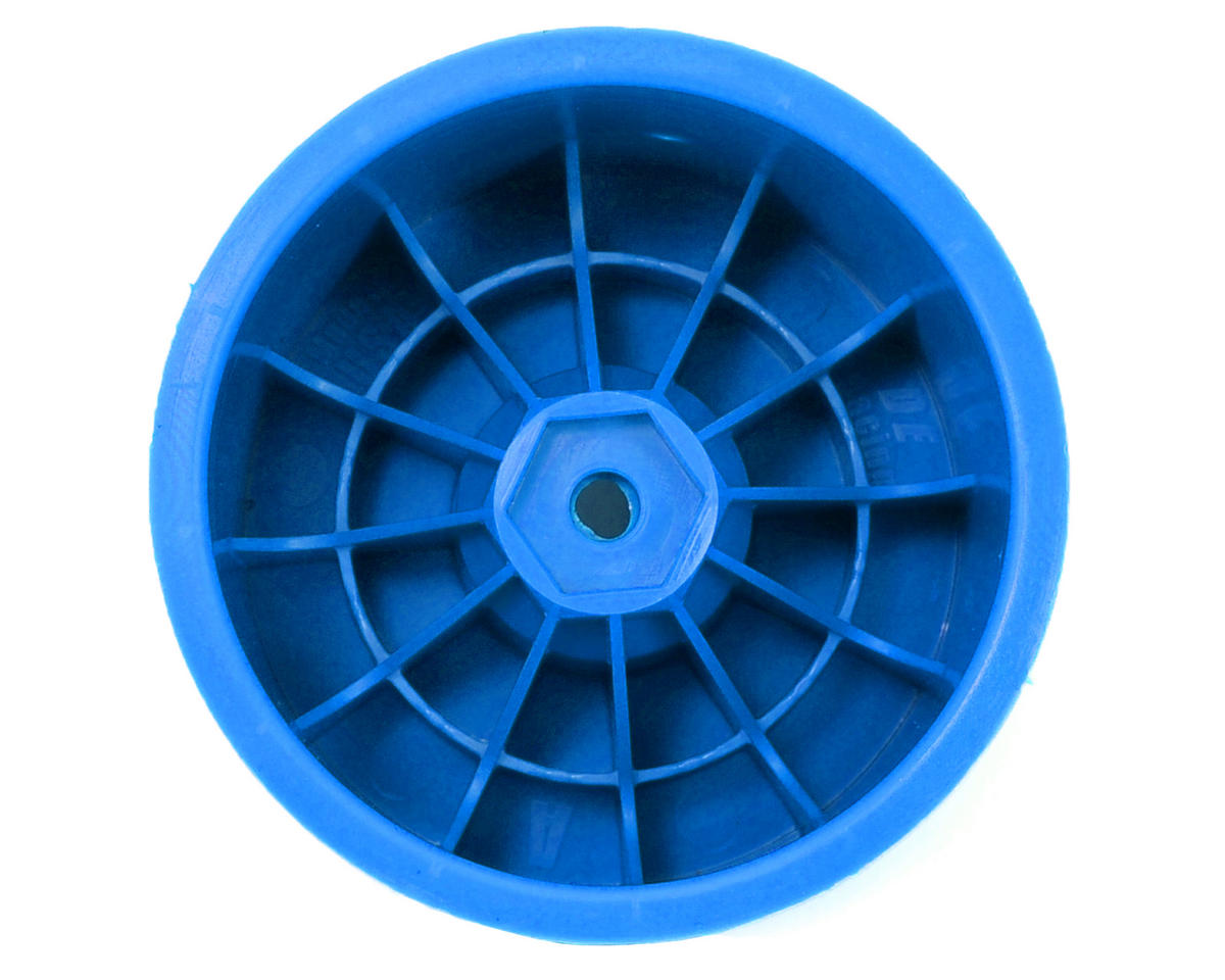 "12mm Hex ""Speedline"" 2.2"" 1/10 Stadium Truck Wheel (2) (T4.2) (Blue) by DE Racing"