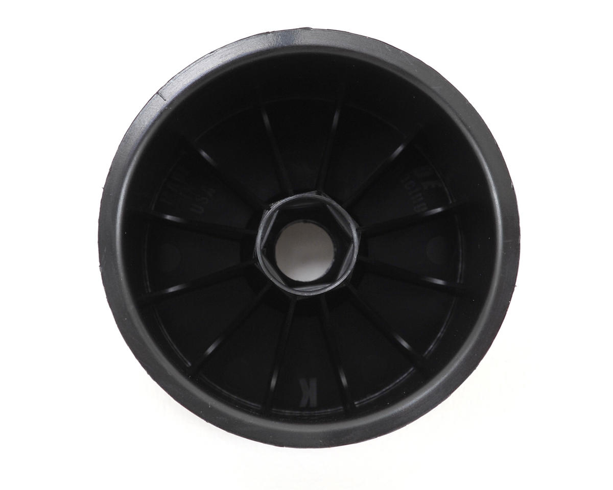 DE Racing Speedline 2.2 1/10 Stadium Truck Wheel (2) (RT6/RT5) (Black)