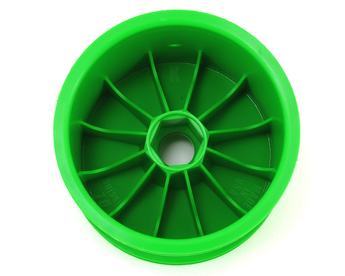 DE Racing Speedline 2.2 1/10 Stadium Truck Wheel (2) (RT6/RT5) (Green)