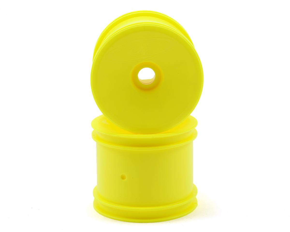 DE Racing Speedline 2.2 1/10 Stadium Truck Wheel (2) (RT6/RT5) (Yellow)