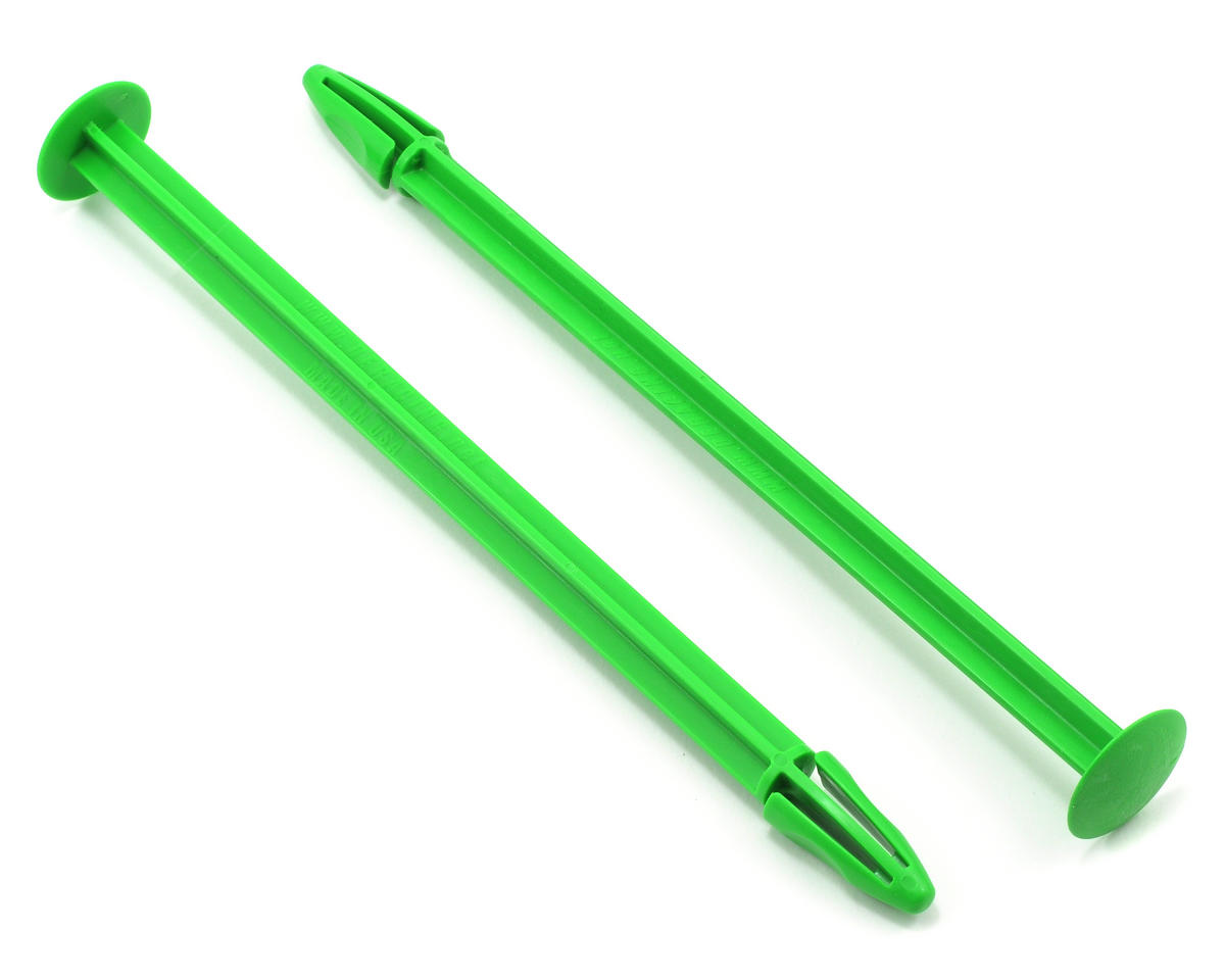 DE Racing 1/8 Buggy Tire Spikes (Green) (2)