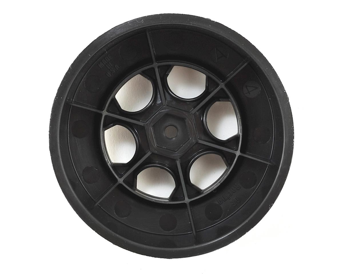 "Image 2 for DE Racing 12mm Hex ""Trinidad"" Short Course Wheels (Black) (4) (22SCT/TEN-SCTE)"