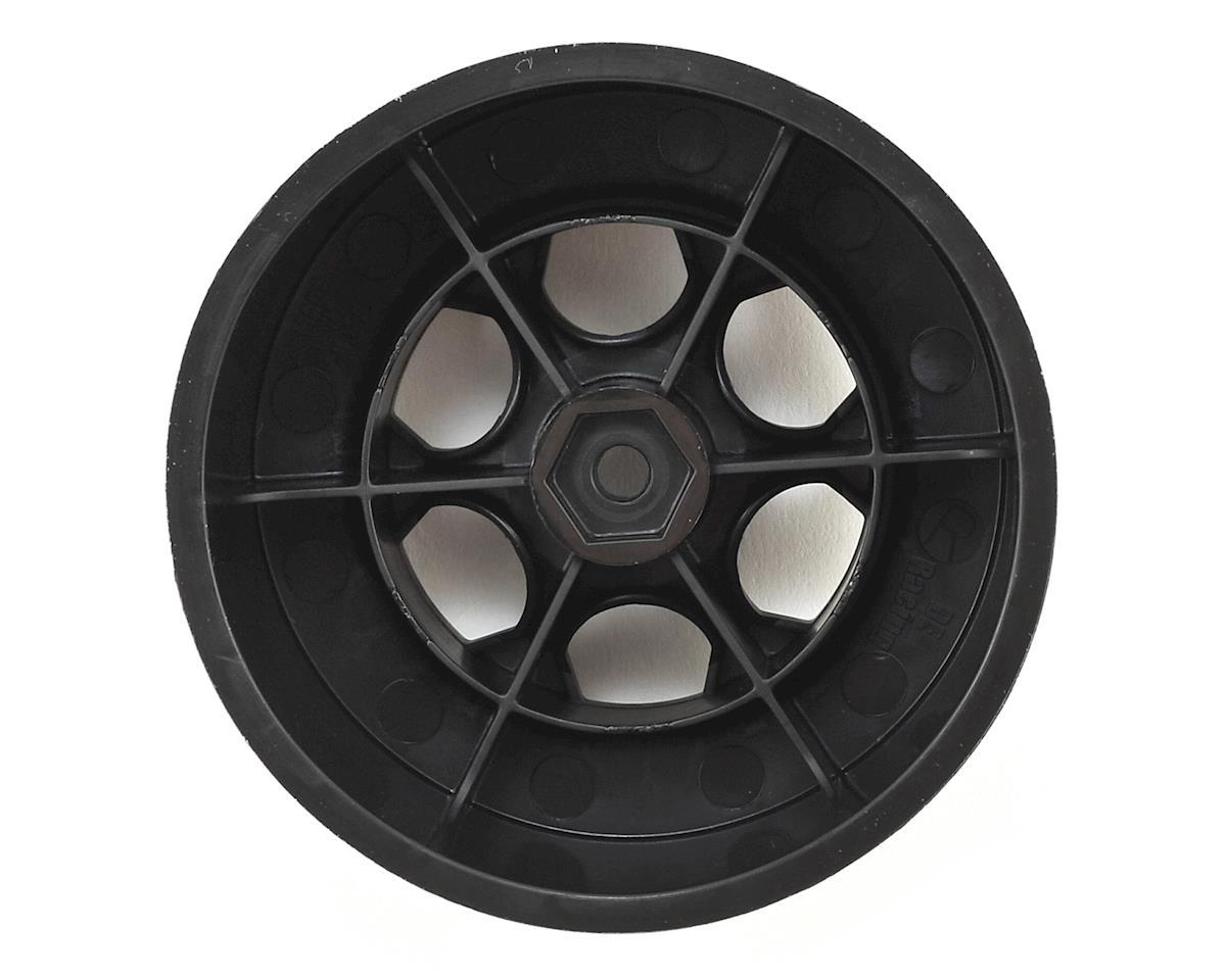 """Image 2 for DE Racing 12mm Hex """"Trinidad"""" Short Course Wheels (Black) (4) (SC6/Slash/Blitz)"""