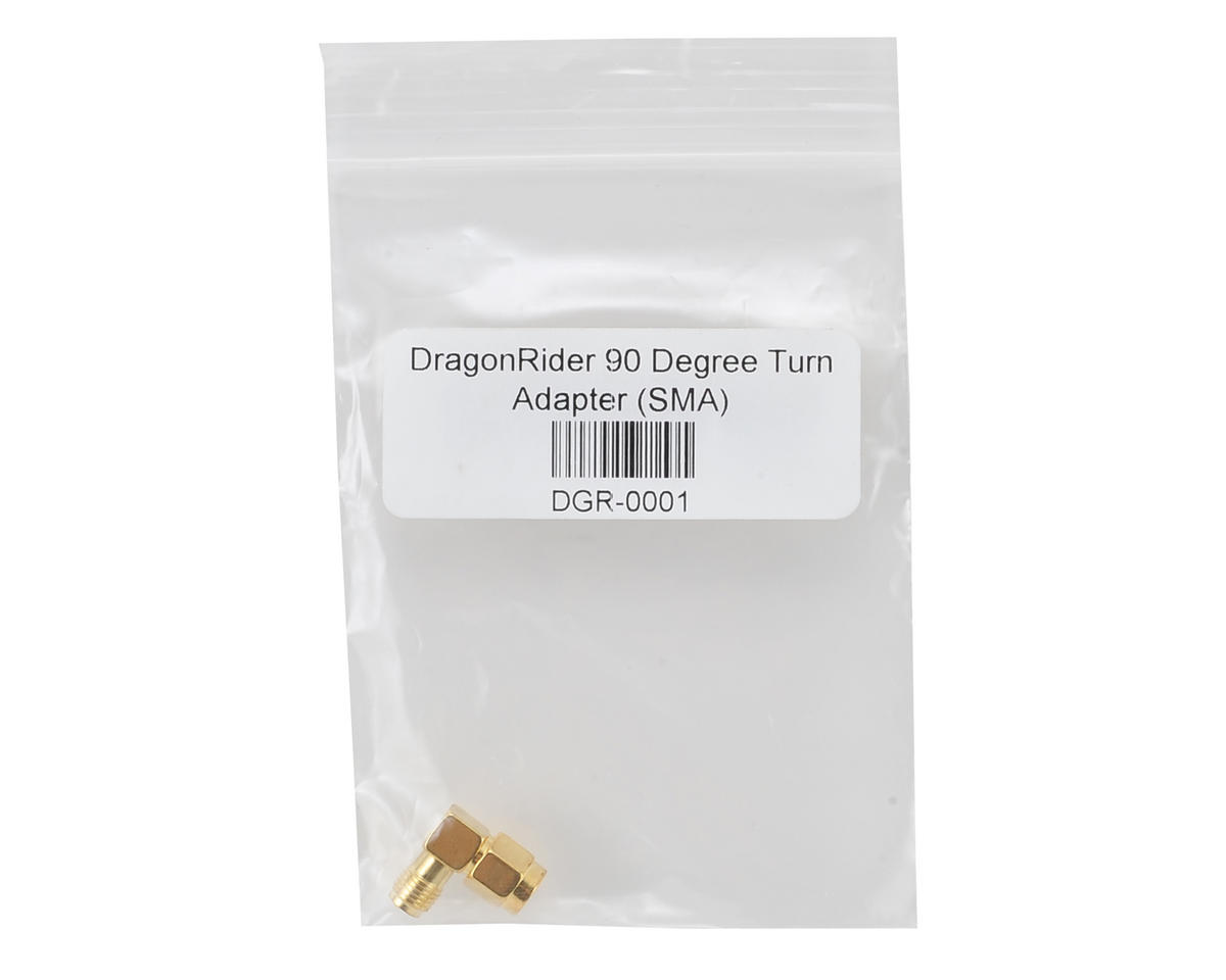 DragonRider 90 Degree Turn Adapter (SMA)