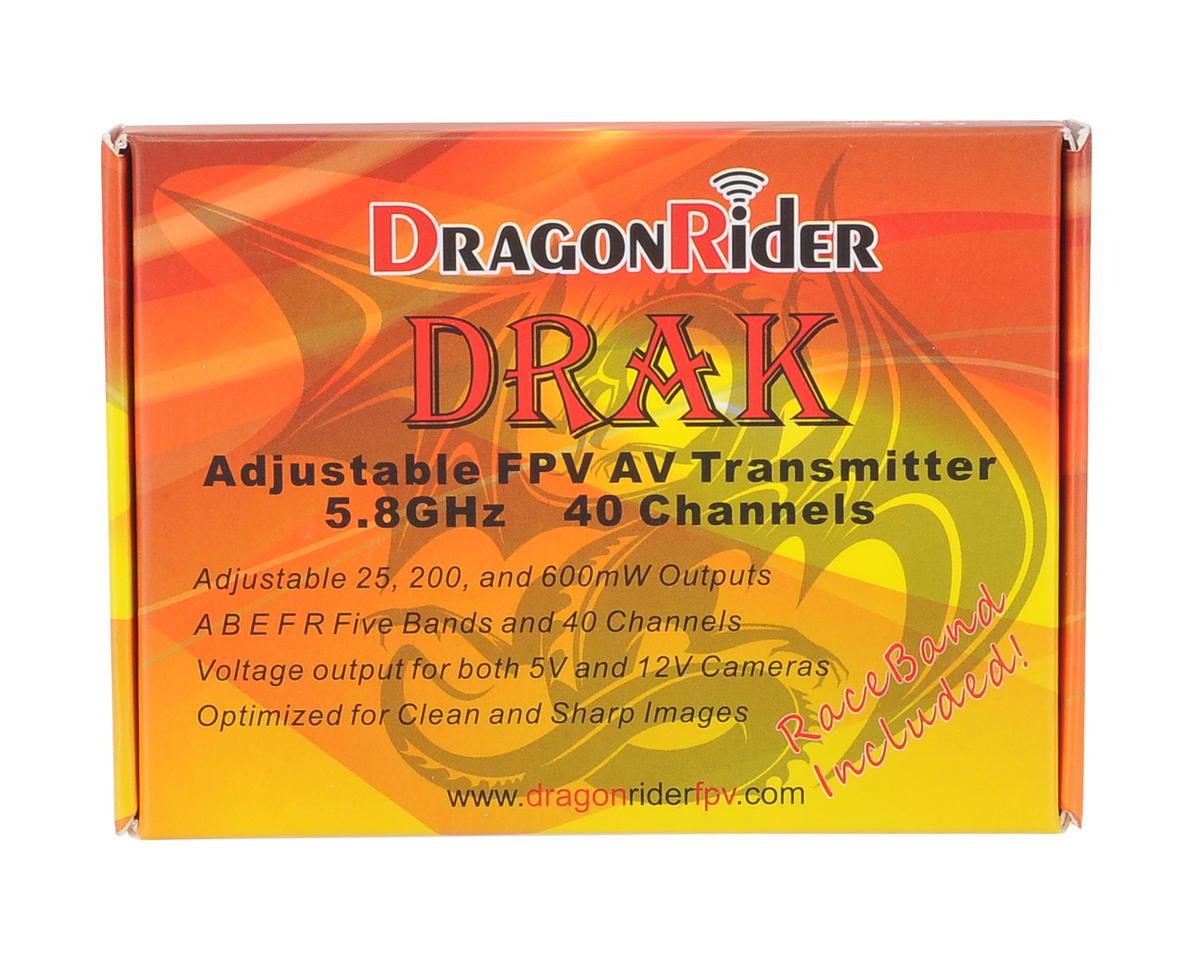 DragonRider DRAK 5.8GHz 40CH 25mW-600mW Video Transmitter