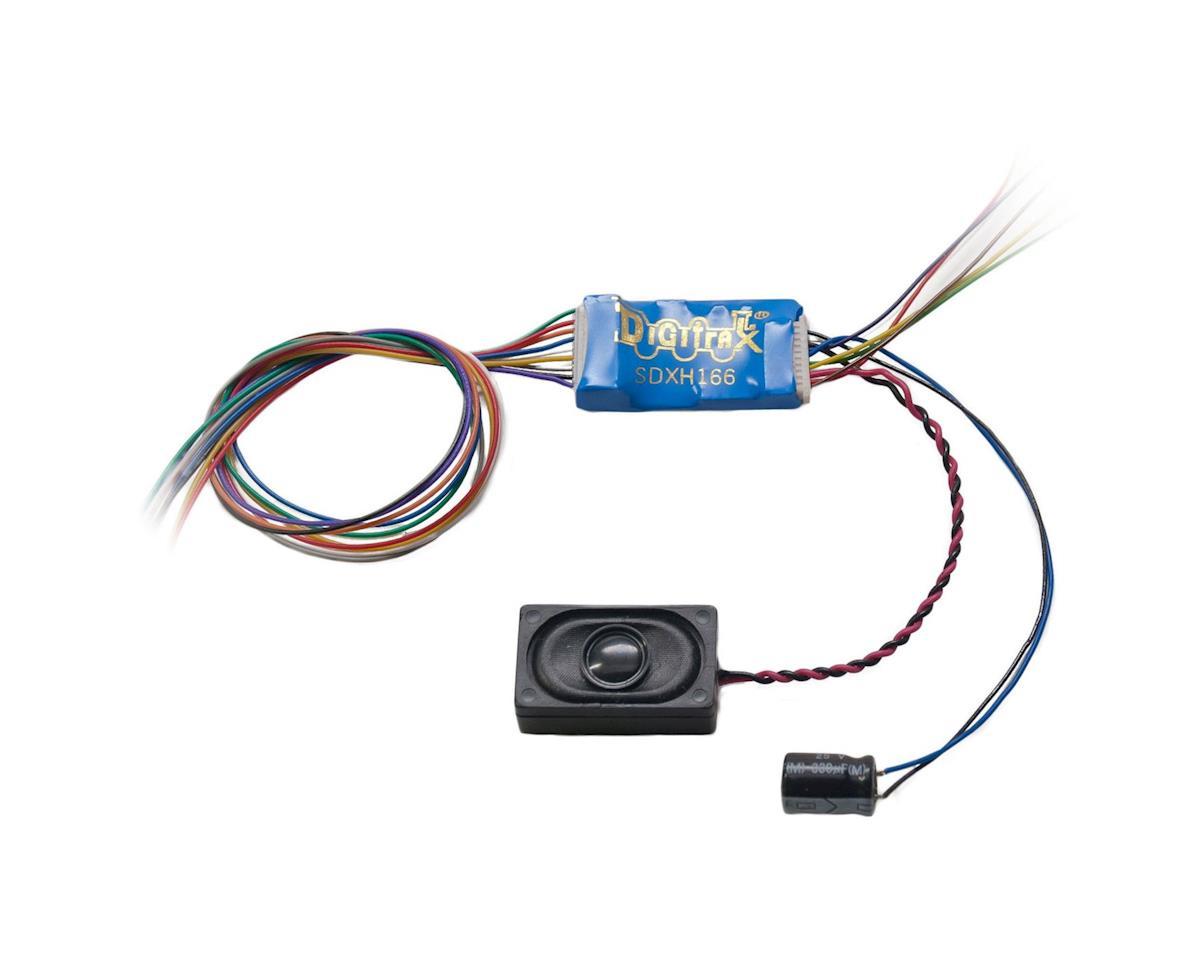 Digitrax, Inc. HO 16 Bit Sound Decoder, Motor 6-Functions 1A