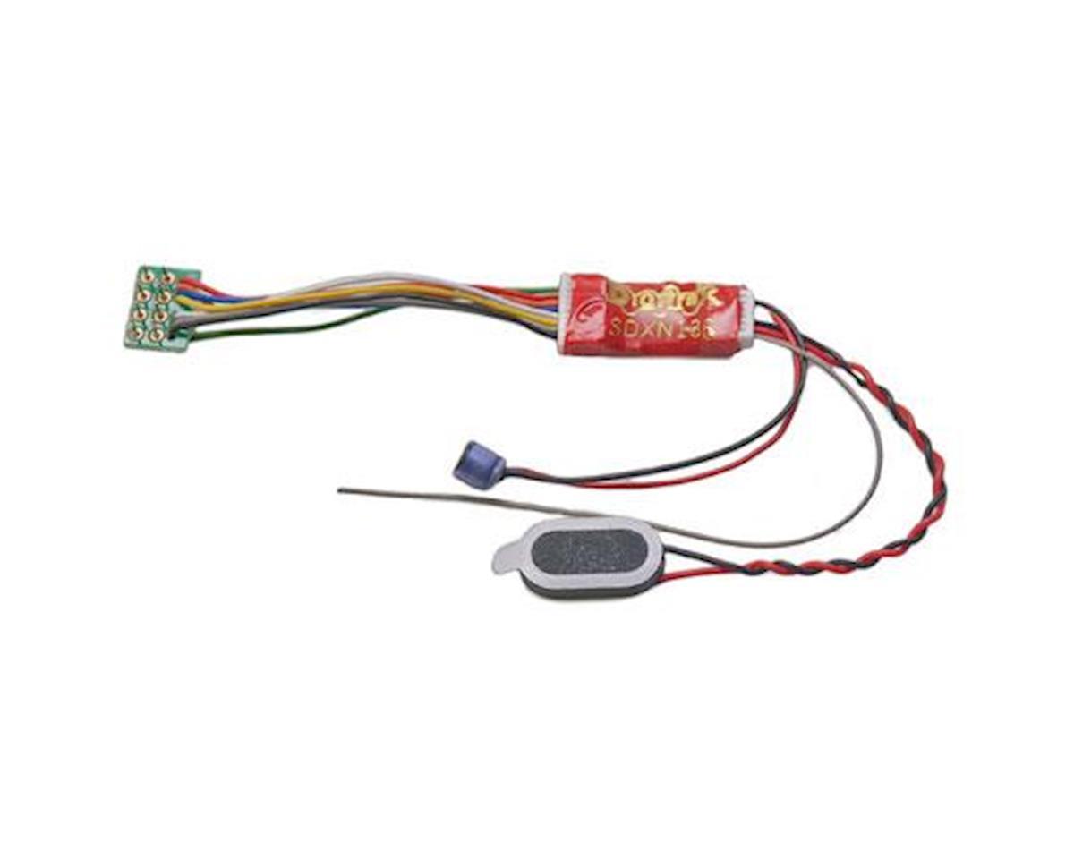 Digitrax, Inc. N 16 Bit Sound Decoder, Motor/6-Functions 1A