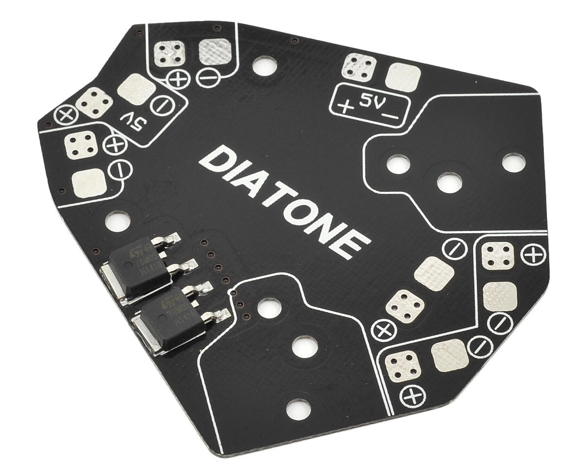 Diatone V3.1 Power Distribution Board w/5V BEC
