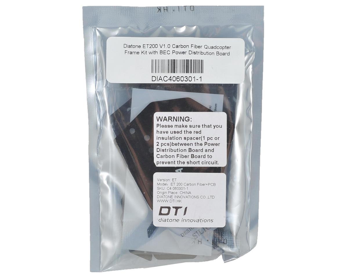 Diatone ET200 V1.0 Carbon Fiber FPV Racer Quad Drone Frame Kit