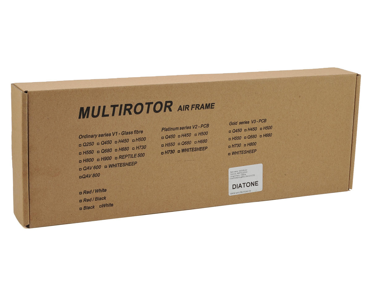 Diatone Reptile 500 Quadcopter Drone Frame Kit