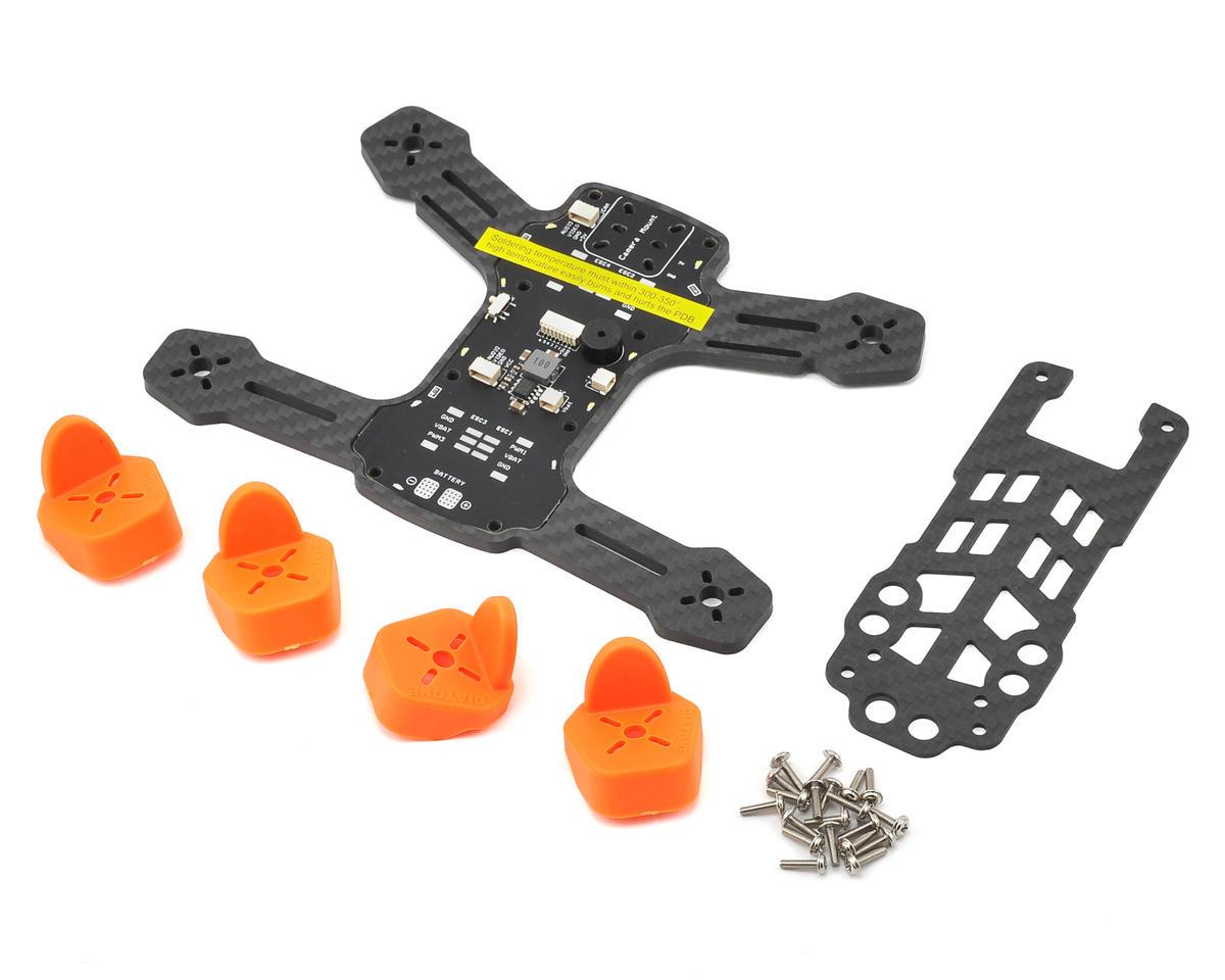 Diatone Tyrant 150 Carbon Fiber Quadcopter Drone Frame Kit (Orange ...