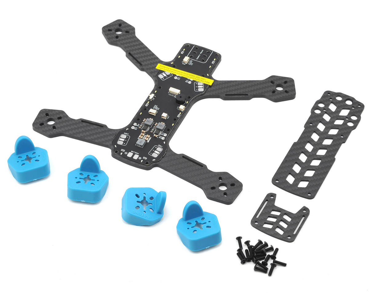 Tyrant 215 Carbon Fiber Frame Kit (Blue)