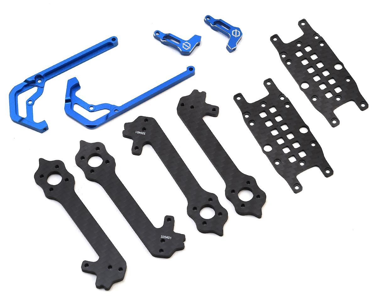 2018GT M3 Stretch X Drone Frame Kit (Blue)