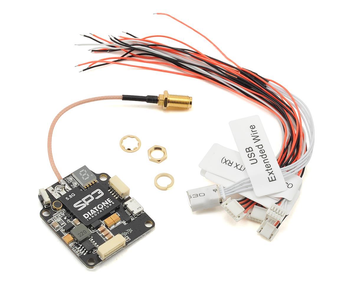 SP3 5.8Ghz 48CH 25-600mW FPV Video Transmitter by Diatone