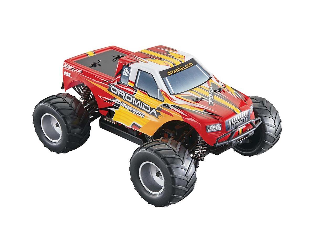 1/18 Monster Truck Brushless 2.4GHz w/Batter/Charger