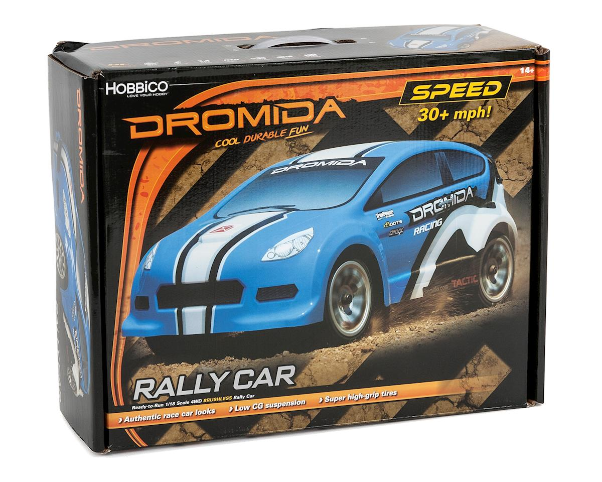 Dromida 1/18 RTR 4WD Brushless Rally Car