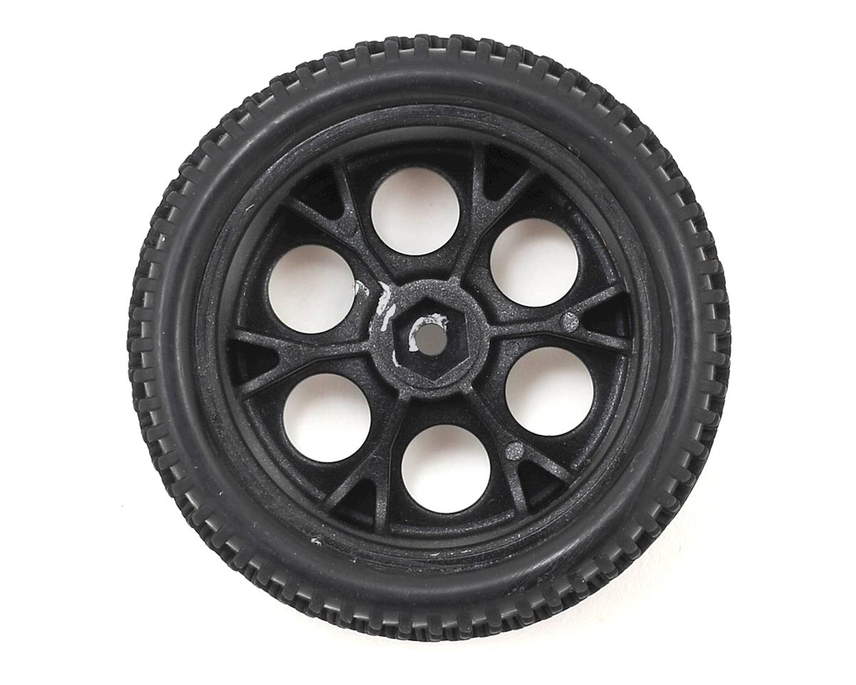 Dromida Pre-Mounted 1/18 Tire (2) (Black)
