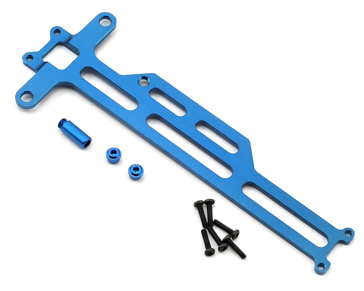 1/18 Aluminum Upper Chassis Brace (Blue) by Dromida