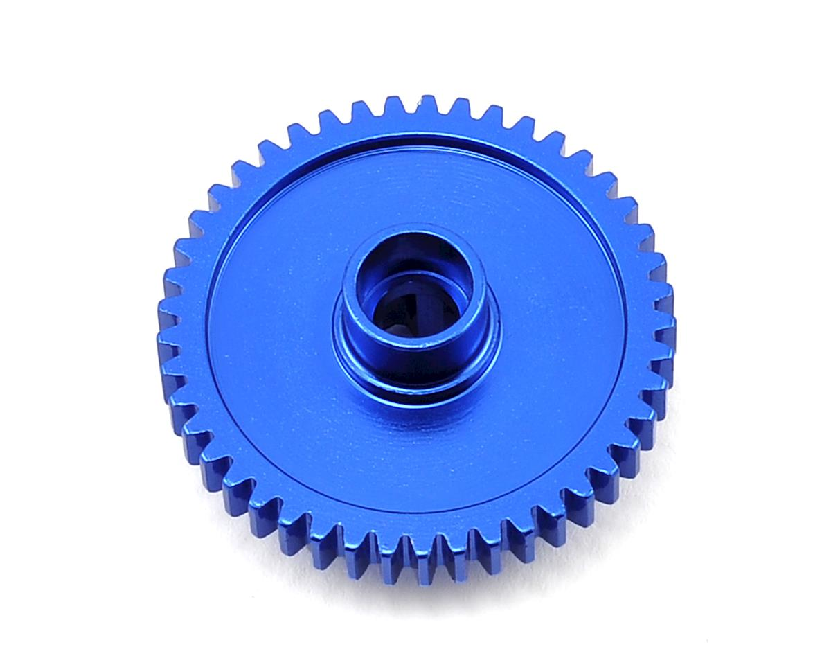 Aluminum Spur Gear (45T) (Blue) by Dromida